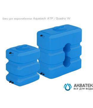 Бак для водоснабжения Aкватек ATP 1000 с поплавком, синий