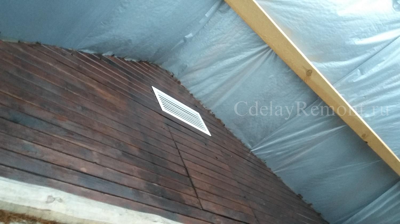 Как утеплить крышу бани своими руками: чем отделать потолок 69