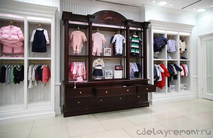 Дизайн магазина одежды описание
