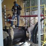 Дизельное отопление, электромонтажные работы установка аварийных клапанов