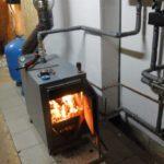 Дровяное отопление дома, установка твердотопливного котла отопления, монтаж труб и радиаторов отопления