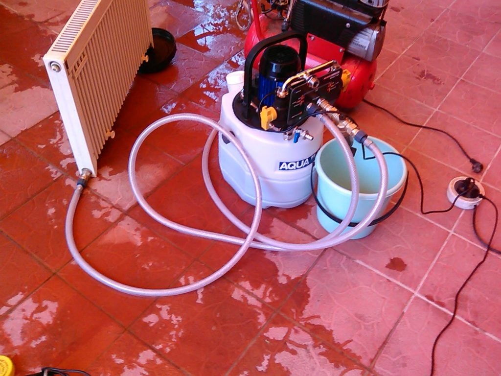 Промыть отопление в частном доме своими руками