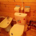 Туалетная комната для дачи
