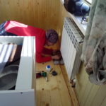 Радиатор в подсобке