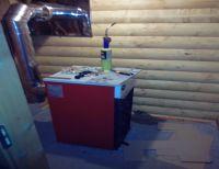 Котел в деревянном доме, монтаж отопления, дровяное отопление