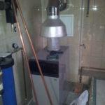 Газовое отопление дома, установка котла отопления и радиаторов водяного обогрева дома, газовое индивидуальное отопление коттеджа