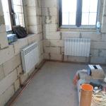 Установка радиаторов под окнами