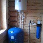 Автономное зимнее водоснабжение