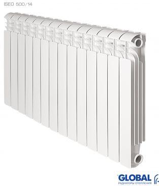 Алюминиевые радиаторы отопления Global серии ISEO 500