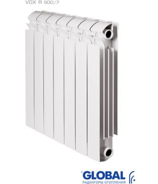 Алюминиевые радиаторы отопления Global серии VOX 500