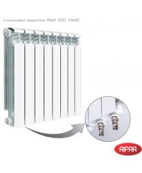 Алюминиевый радиатор Rifar RIFAR Alum 500 Ventil 10 секций