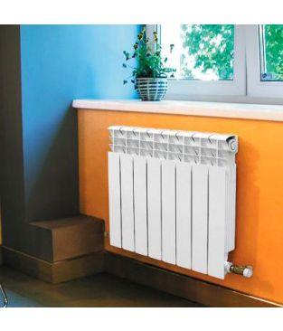 Алюминиевый радиатор отопления Global ISEO 350 10 секций