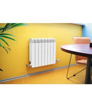 Алюминиевый радиатор отопления Global ISEO 350 8 секций