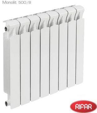Биметаллические радиаторы отопления Rifar серии Monolit 500