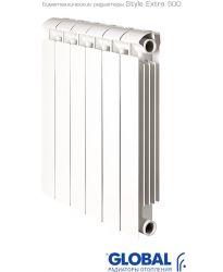 Биметаллический радиатор Global Global Style Extra 500 6 секций