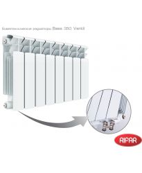 Биметаллический радиатор Rifar RIFAR Base 350 Ventil 10 секций