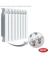 Биметаллический радиатор Rifar RIFAR Monolit 500 Ventil 10 секций