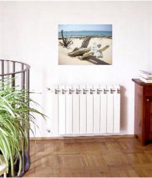 Биметаллический радиатор отопления Global Style Plus 350 11 секций