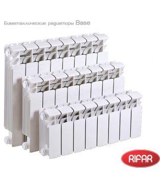 Биметаллический радиатор отопления Rifar Base 200 10 секций