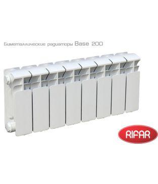 Биметаллический радиатор отопления Rifar Base 200 14 секций