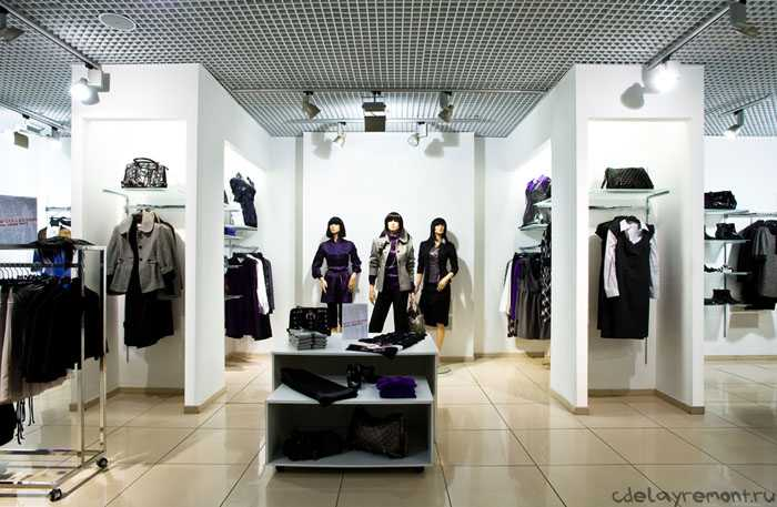 Какой дизайн выбрать для магазина одежды