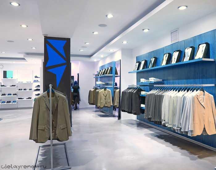 Простой дизайн магазина
