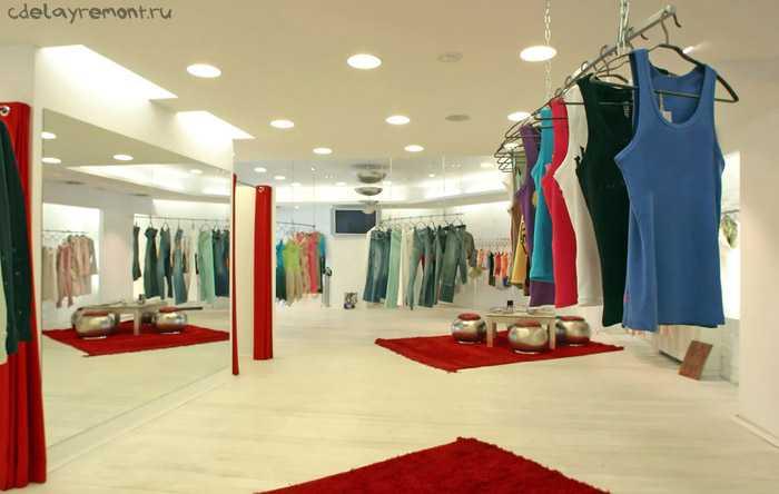 Фото современного дизайна магазина