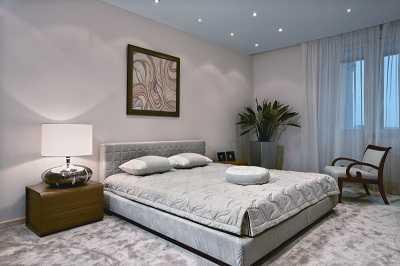 Фото белоснежной спальни для девушки