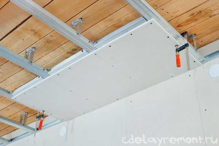 Гипсокартоновый потолок