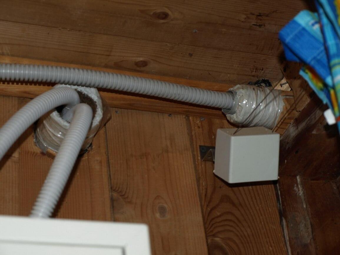Вводной кабель внутри дома