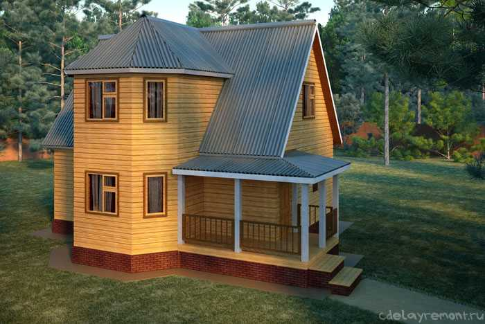 Клееный брус - один из лучших материалов для строительства дома
