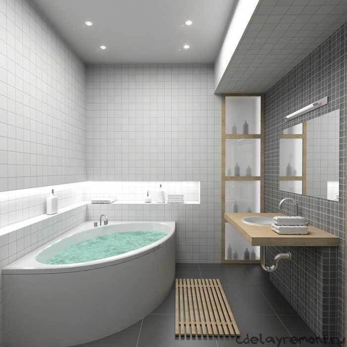 Ванная и туалет (фото)