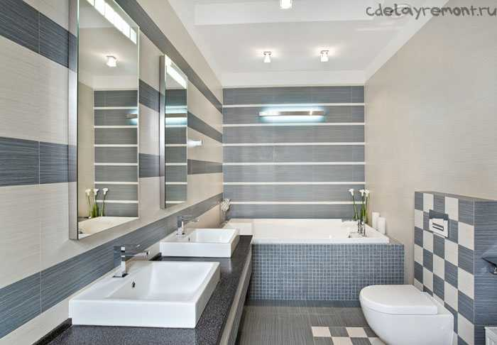 Совмещенные туалет и ванная