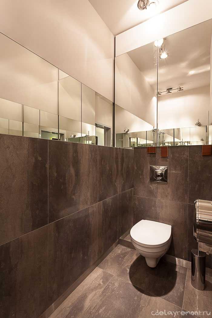 Облицовка туалета плиткой