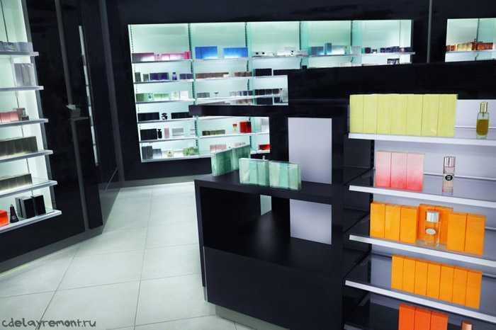 Вариант оформления парфюмерного магазина
