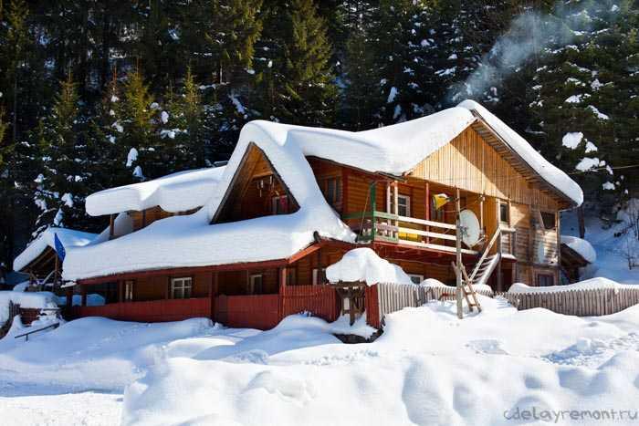 Отопление дома из бруса