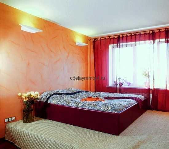 Интерьер минималистической спальни