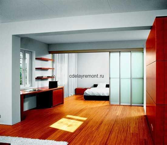 Дизайн спальной в стиле минимализм