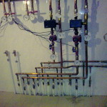 Распределение труб отопления