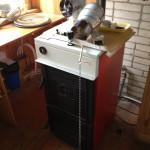 Установка дровяного отопления