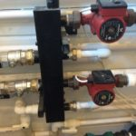Распределение насосов отопления