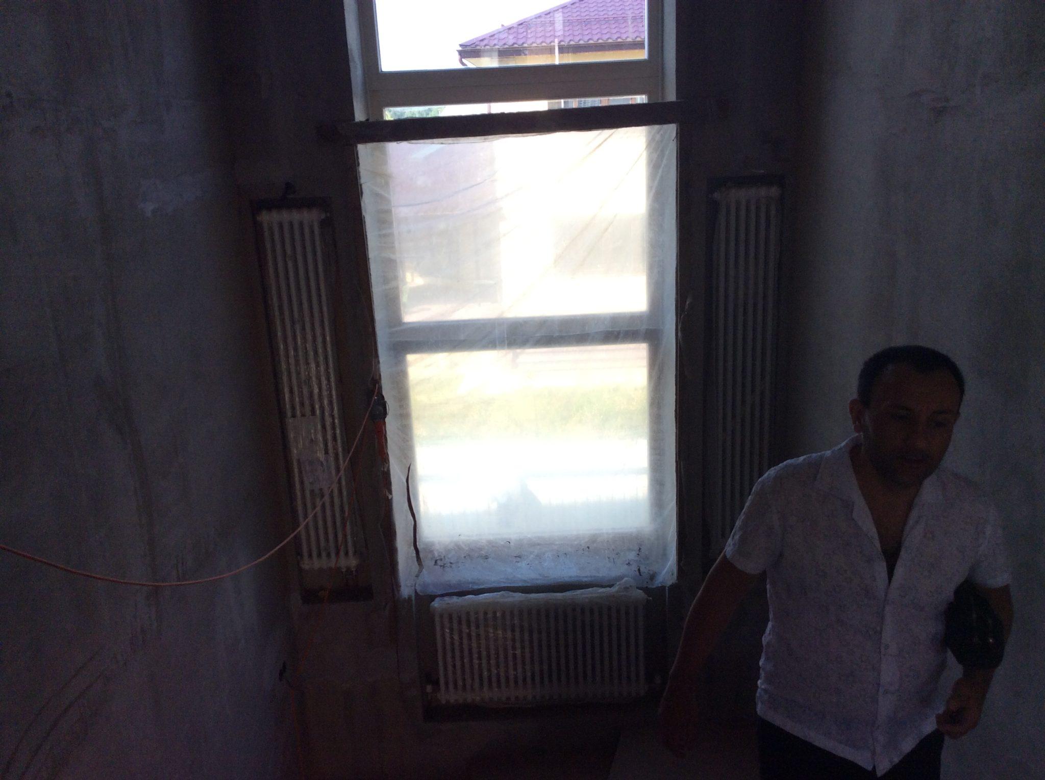 Отопление между этажей
