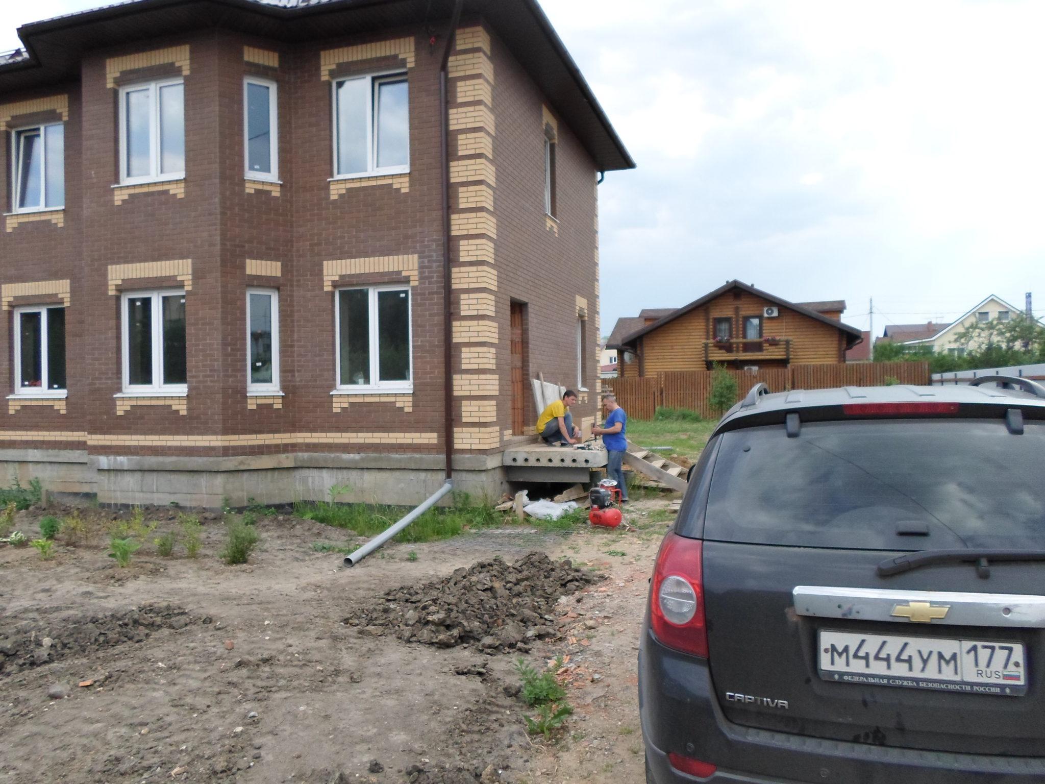 Дом построен началось отопление