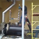 Дизельное отопление, установка дымохода для котла отопления