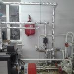 Дизельное отопление установка нагнетающего насоса