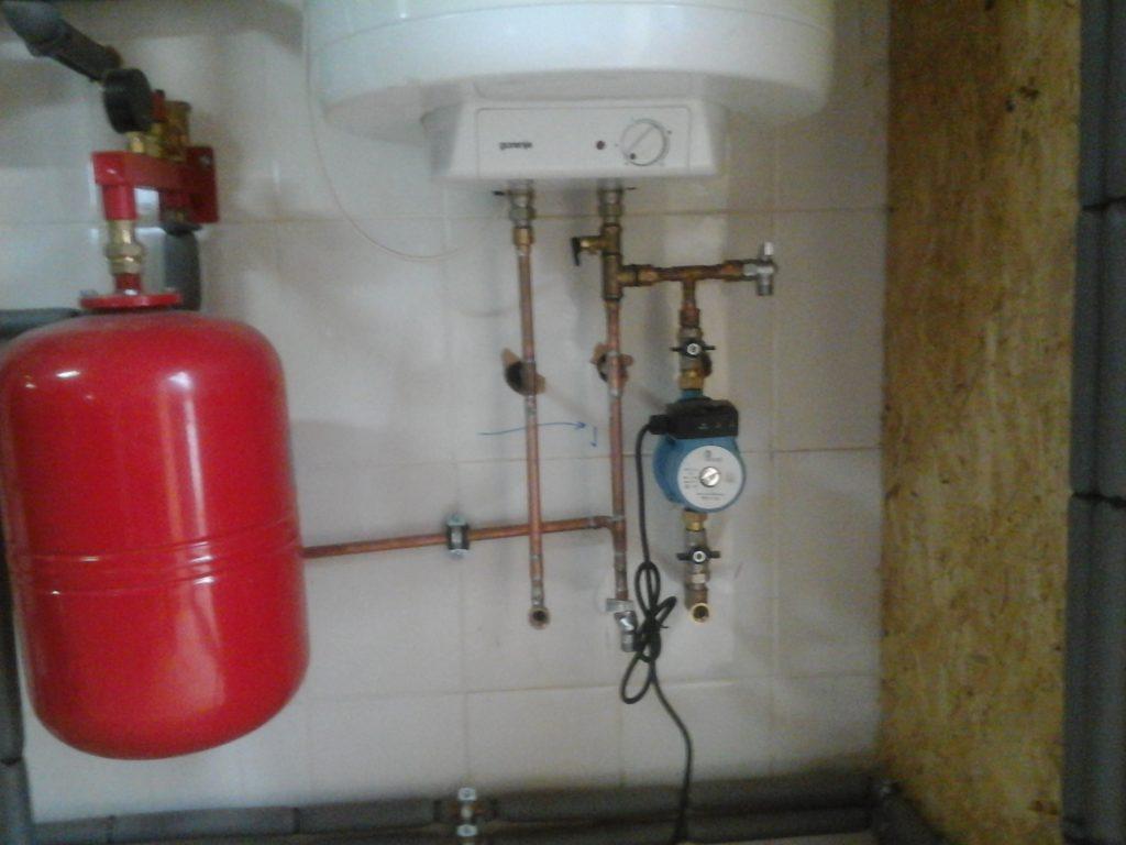 Дровяное отопление и горячая вода для частного дома