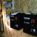 Установка стабилизаторов для электрического котла отопления частного дома