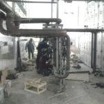 Промышленное отопление, отопление склада