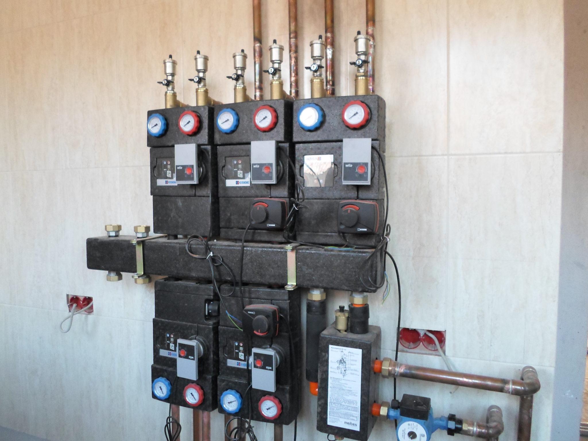 Отделение воздуха в отоплении