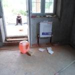 Отопление рядом с балконной дверью
